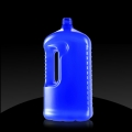 Plastic bottle PE 1,5 L with handle, Piatti - on demand
