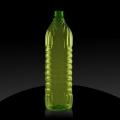 Plastic bottle PET 1 L OS, green