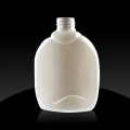 Plastenka PET 300 ml, 28/410, ploščata, bela