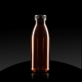 Plastic bottle PET 500 ml ambra fi 38