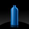 Plastic bottle HD PE 150 ml 24/410 blue