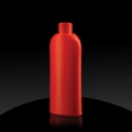 Plastic bottle HD PE 150 ml 24/410 orange