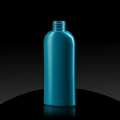 Plastic bottle HD PE 150 ml 24/410 turquoise