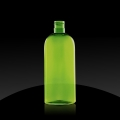 Plastic bottle PET 250 ml 24/415, Sukano green