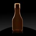 Plastenka PET 50 ml Ambra rjava Isola